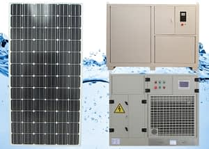 Solar air Water Maker