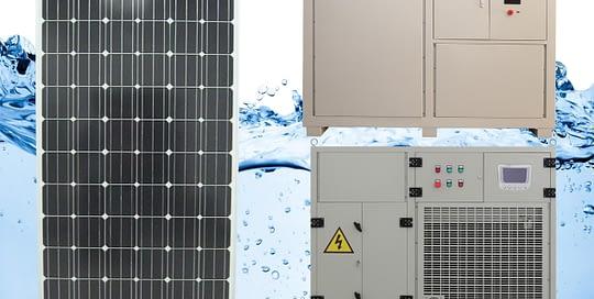 Solar air Water Maker