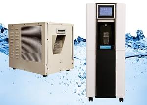 Split Atmospheric Water Generators