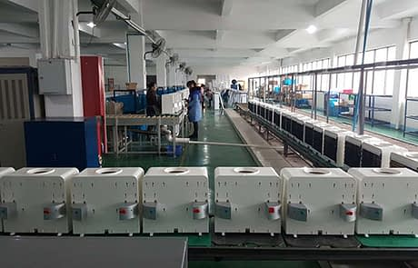 Firsth2o production line