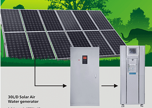 Solar atmospheric water generator