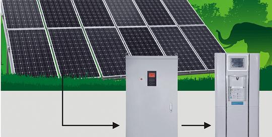 Solar atmospheric water generator