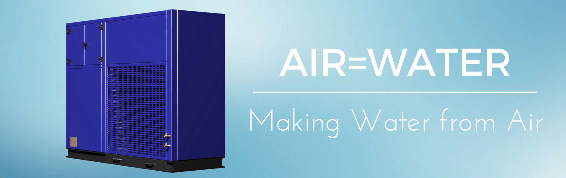 Commercial air water maker, AWG